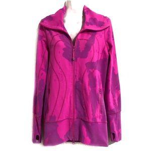 One of a kind high neck lululemon jacket. Size 6